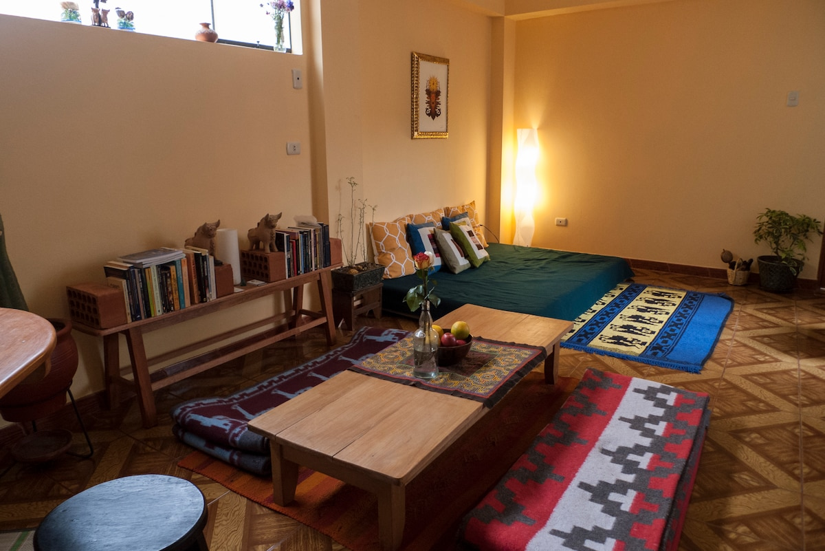 ...and living room