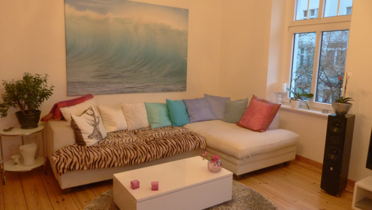 Beautiful apartment in Wilmersdorf.