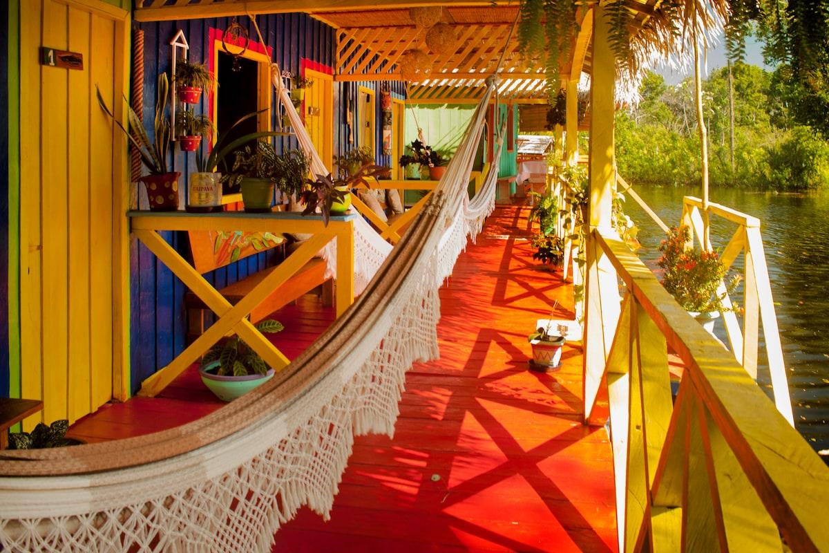 Lovely jungle lodge near Manaus