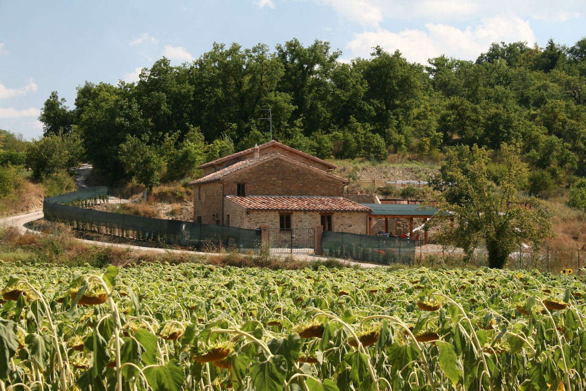 Nestled in the Umbrian countryside