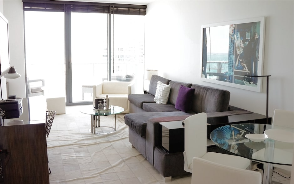 Luxury apartment at W South Beach