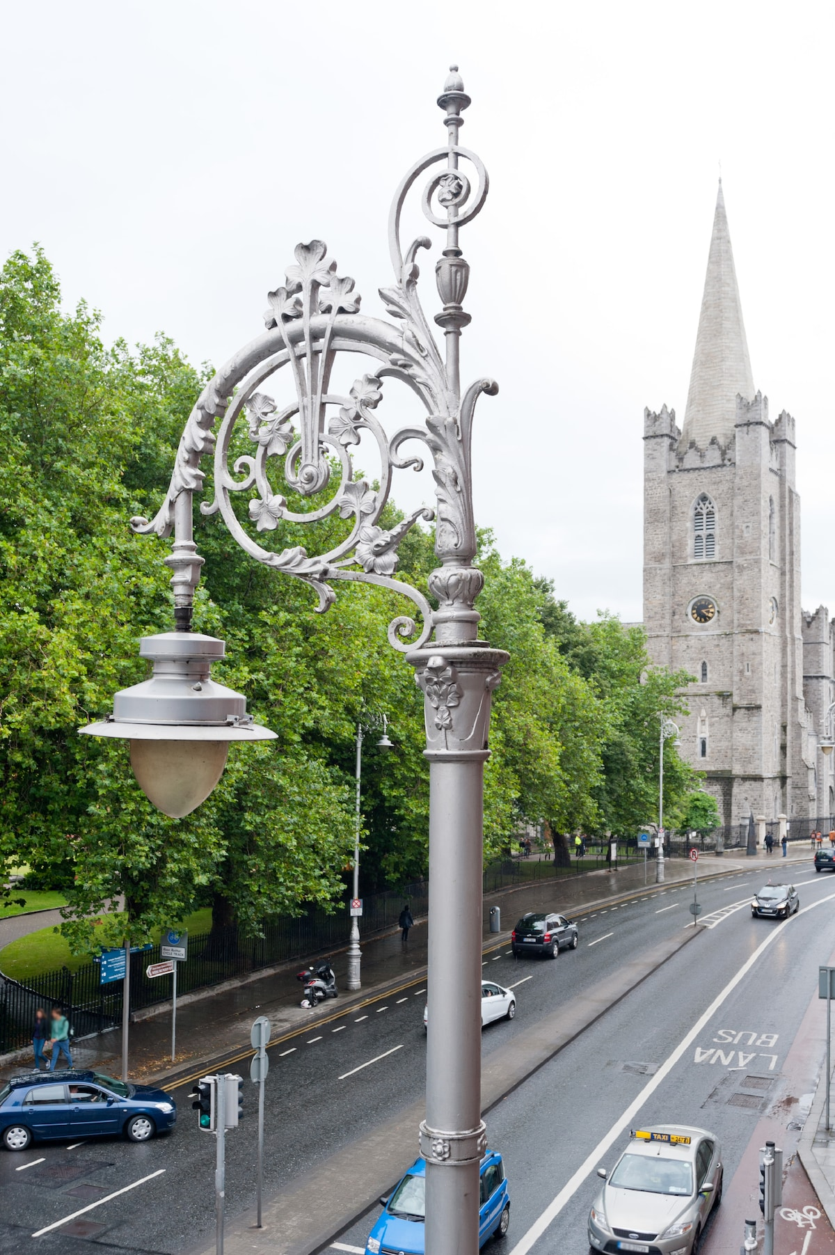 View from terrace! :) Yes it's St. Patrick Cathedral. Have a tea with it!