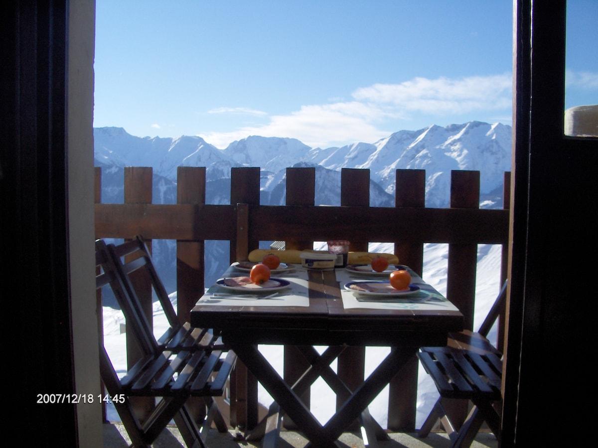 appart 4 places,Alpe d'Huez