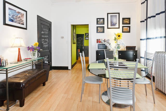 Dining Room and 'after hours' internet cafe!
