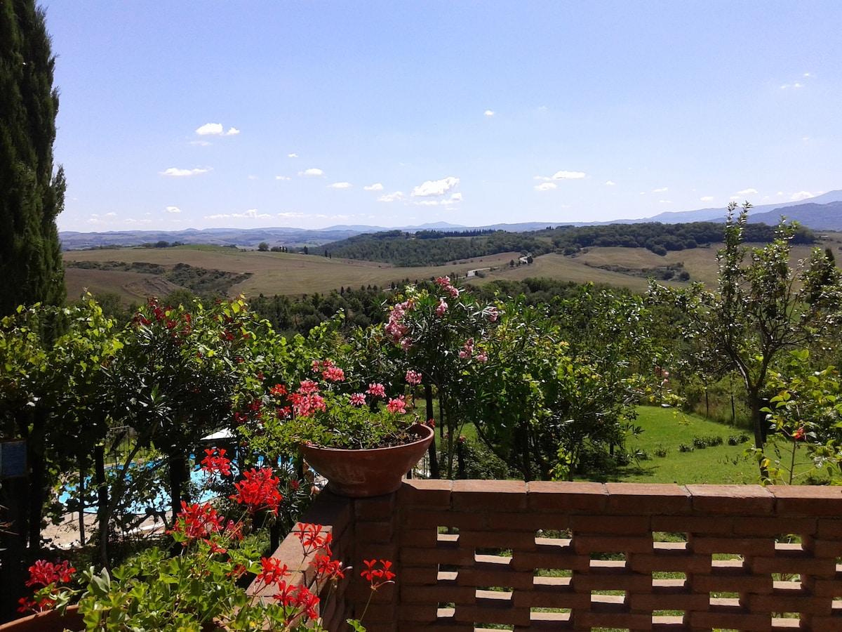 Agriturismo sulle colline di Siena