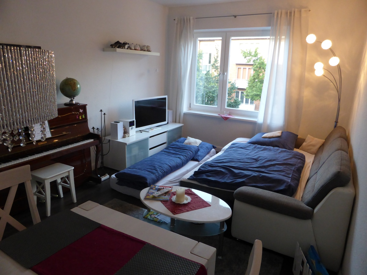 Homelike private room near centre!
