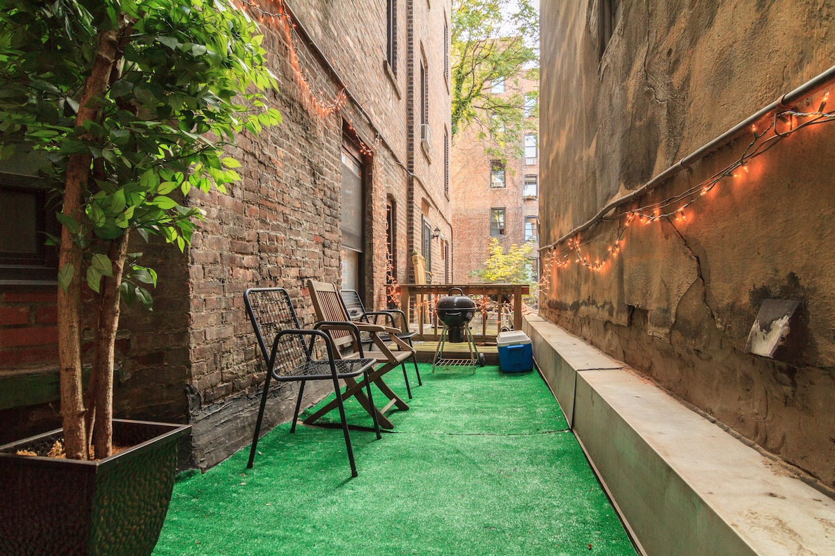 Modern 2BR Apt with Private Terrace