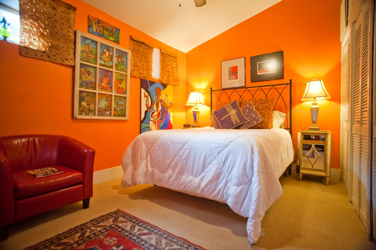 New Orleans Historic Storefront ~ Your room with a Queen Size bed