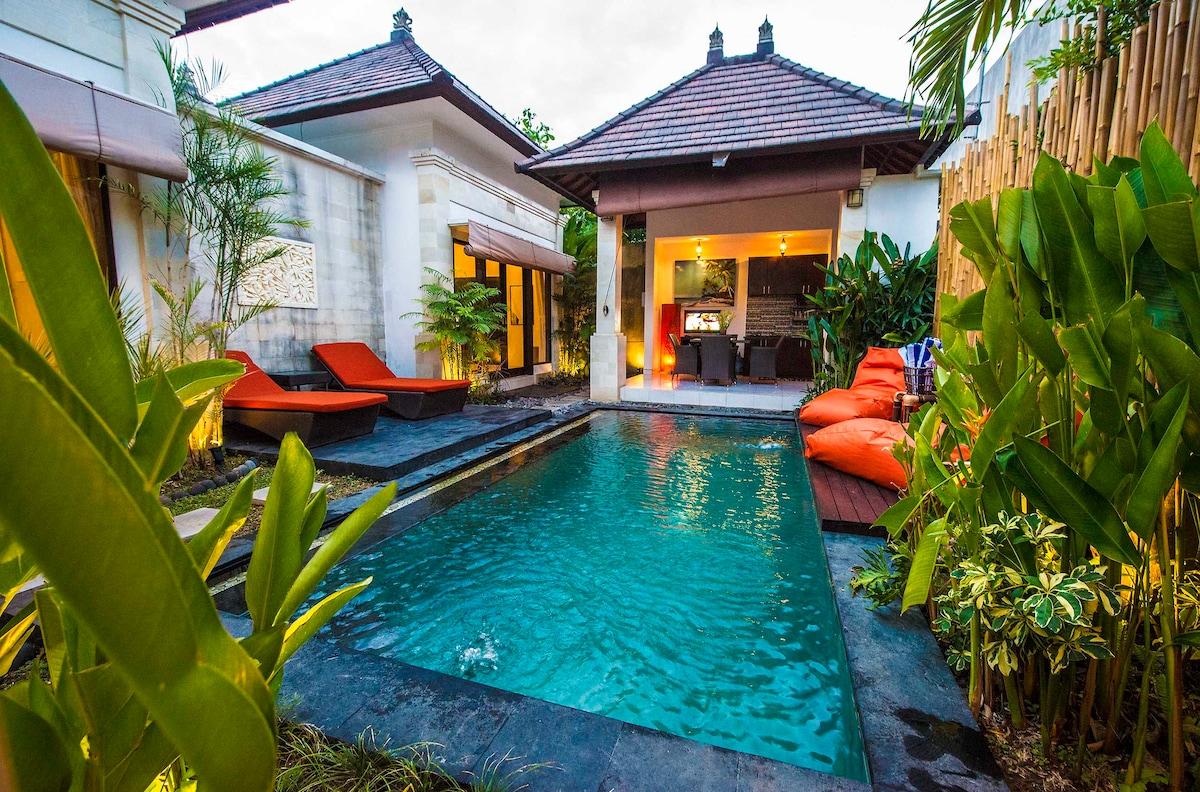 2 BR Luxury Pool Villa Hidden Oasis