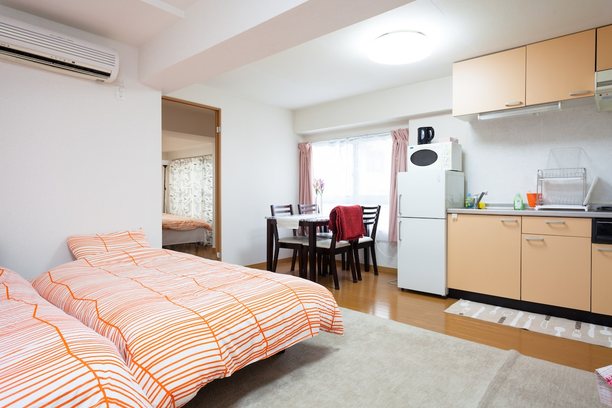 1BR 50㎡ 3BEDs 1min ST ALL 5 STARs!