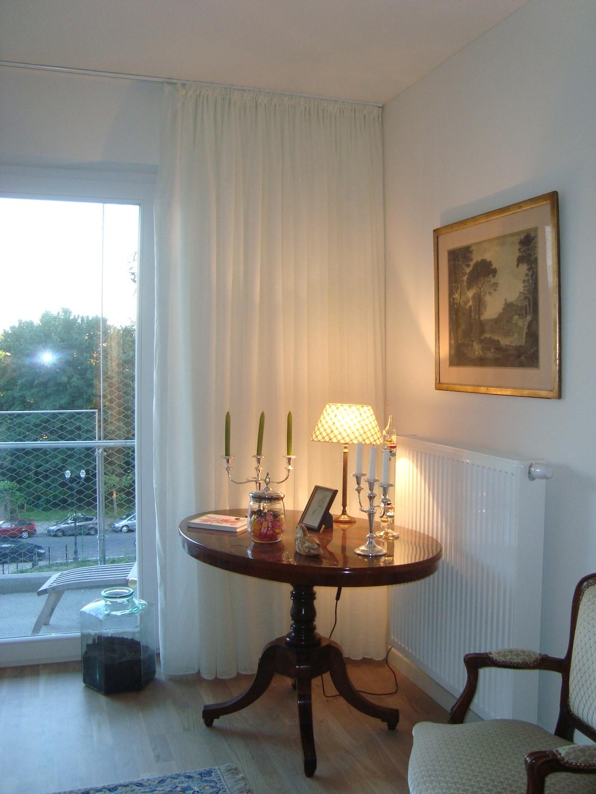 Chambre double à Schaerbeek