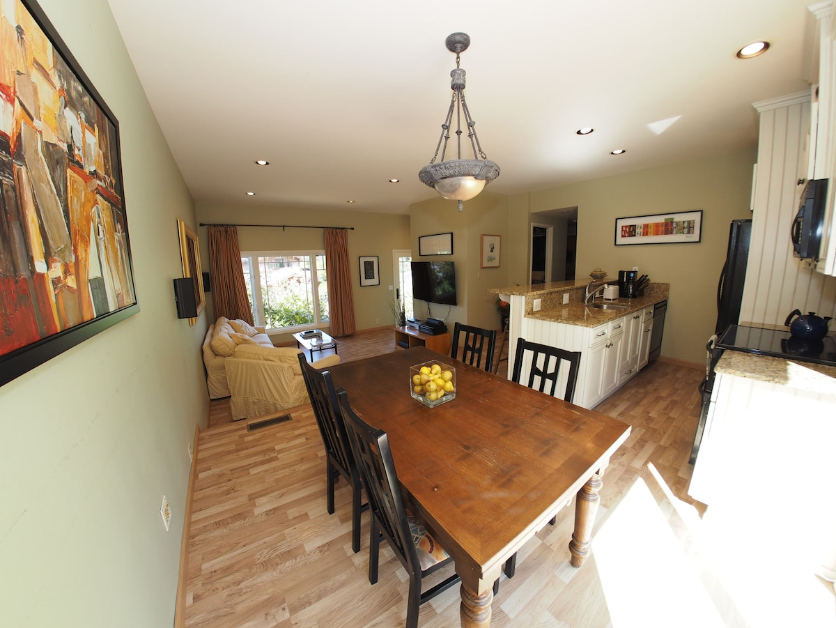 Dining Area, overlooking Living Room
