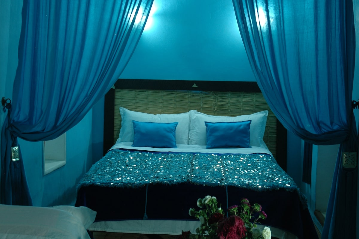 Turquoise Blue,very cool,suite....