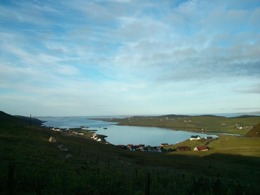 Fab Shetland view! Double room :)