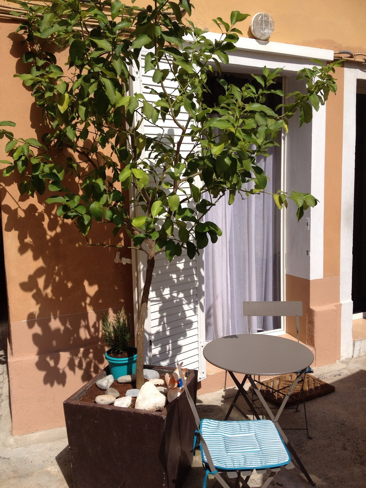 Charming studio in Villefranche