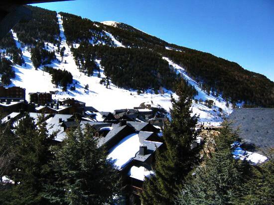 Andorra frente pistas El Tarte