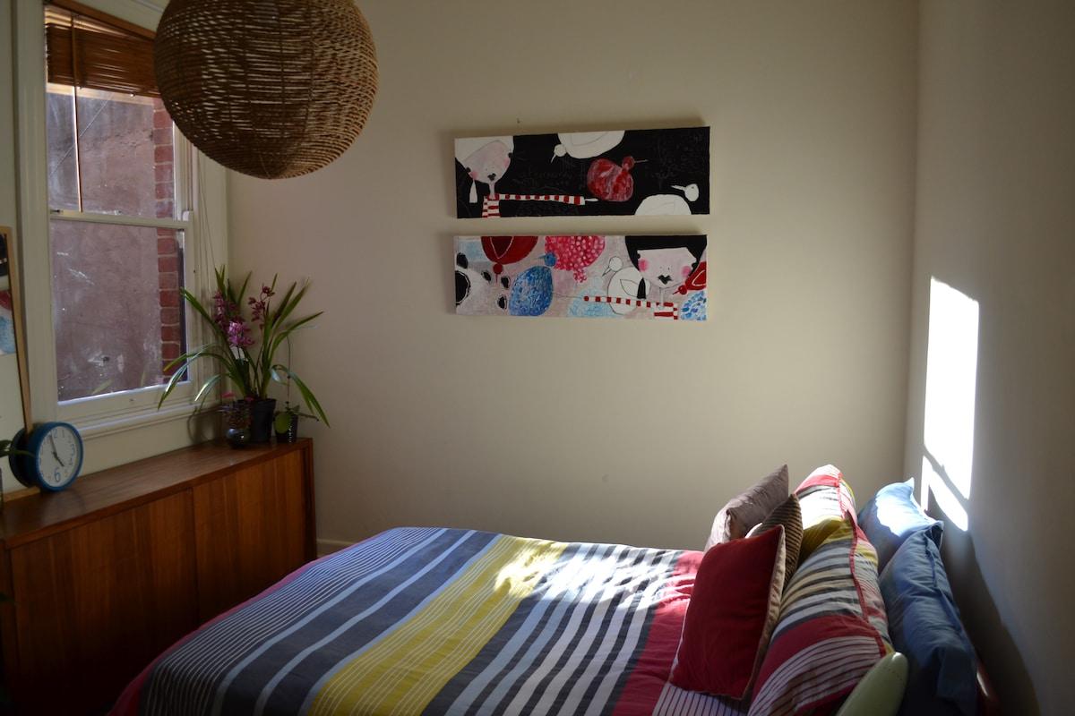 Large Tranquil room near MCG + CBD