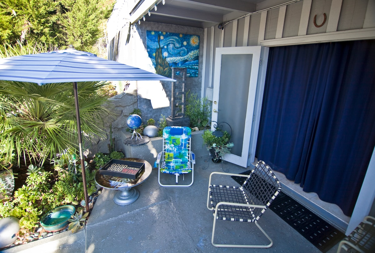 Your outdoors patio!