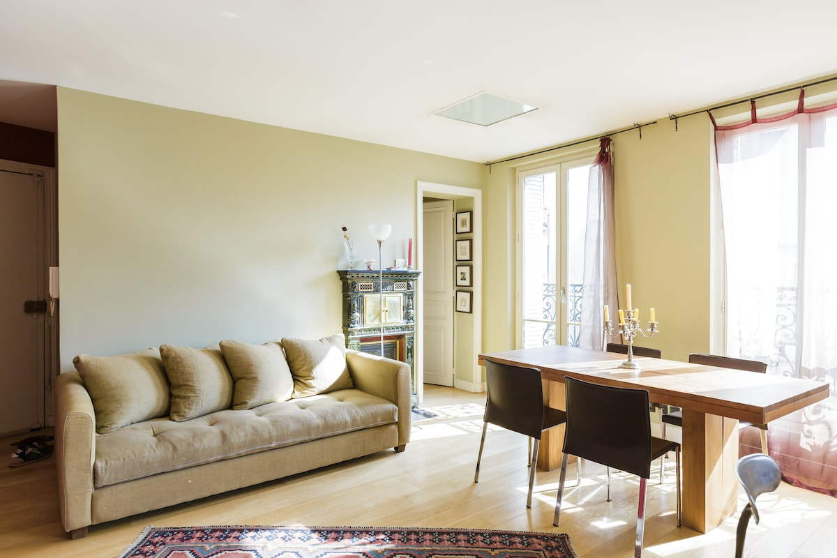 excellent apartment in Le Marais