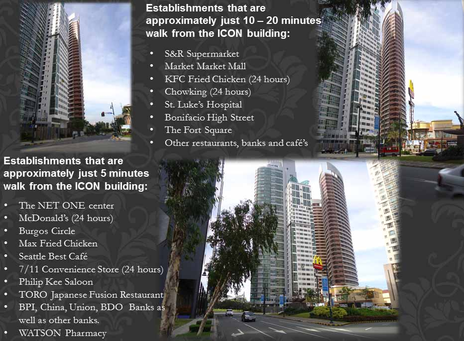 Nearby establishments ...