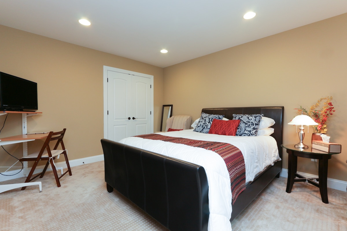 Modern One BR in a Great Location .