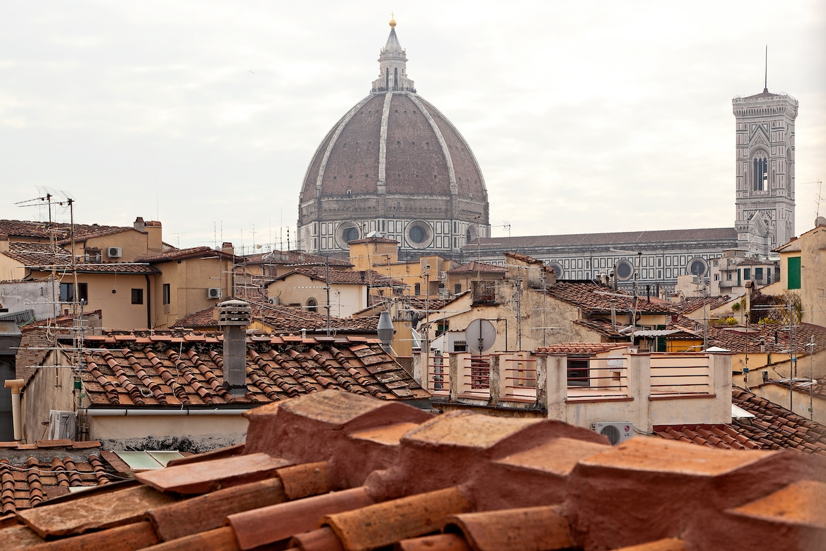 Penthouse with a View of Duomo