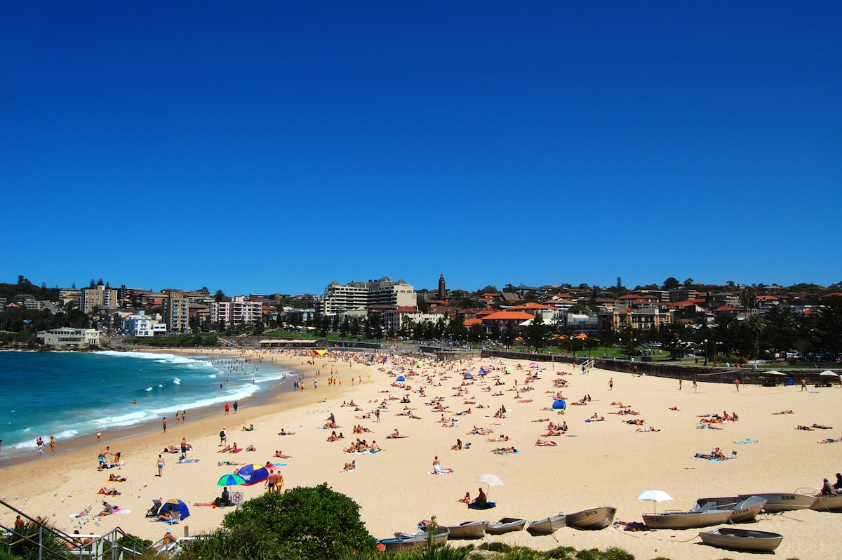 Beautiful Coogee Beach - just down the road