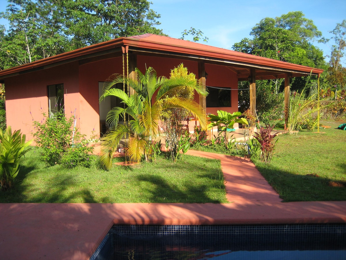 Paradise in the south of Costa Rica