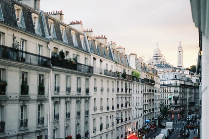 View on Montmartre