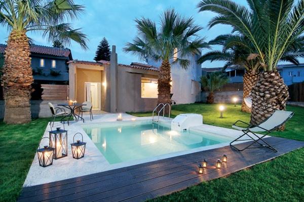 Villas complex in Anissaras for 6