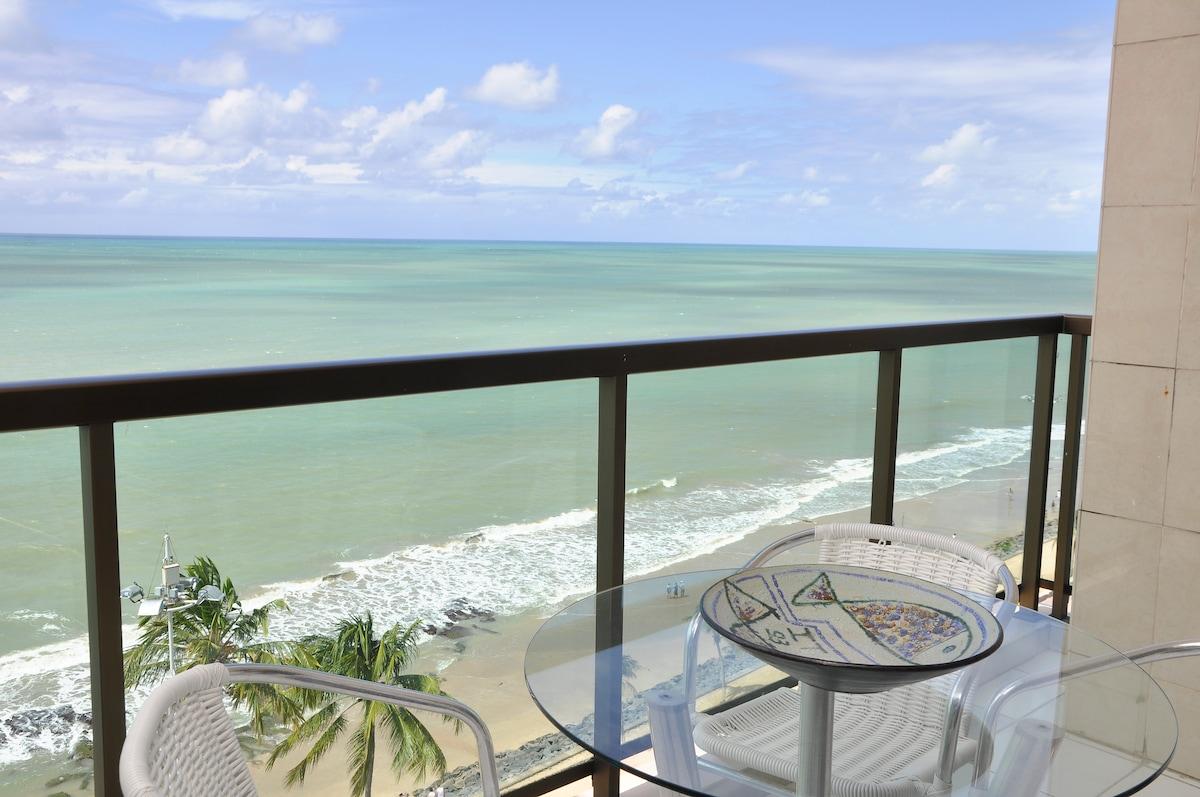 Recife lovely room on  the beach