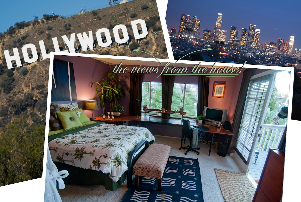 PARADISE surrounded by VIEWS from the HOLLYWOOD SIGN to DOWNTOWN!!