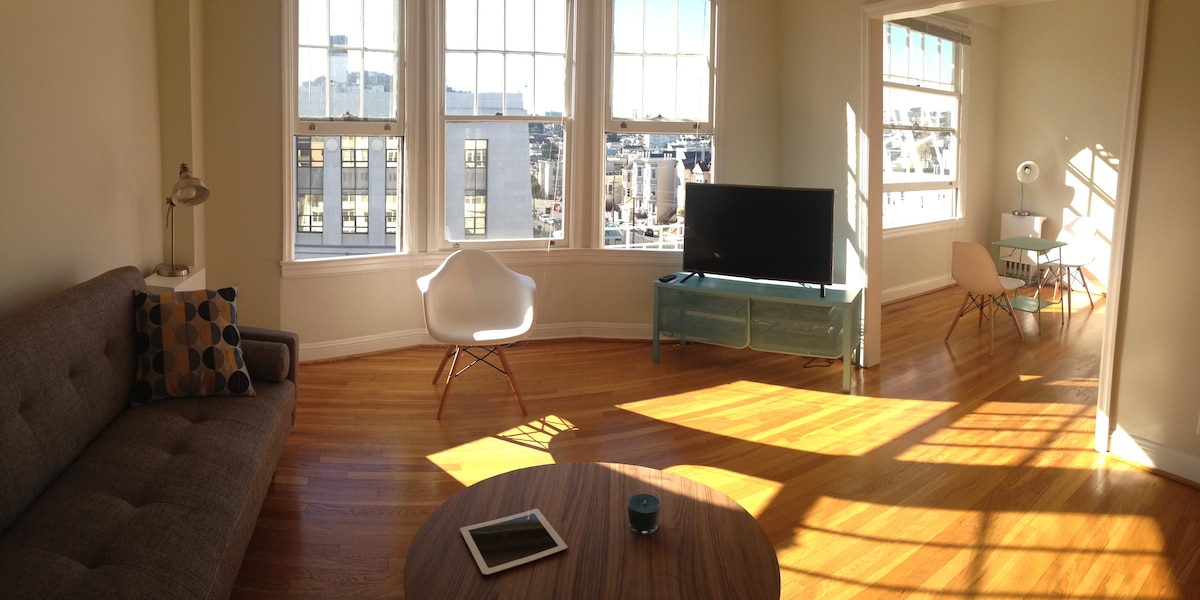 Loft in trendy Duboce Mission area