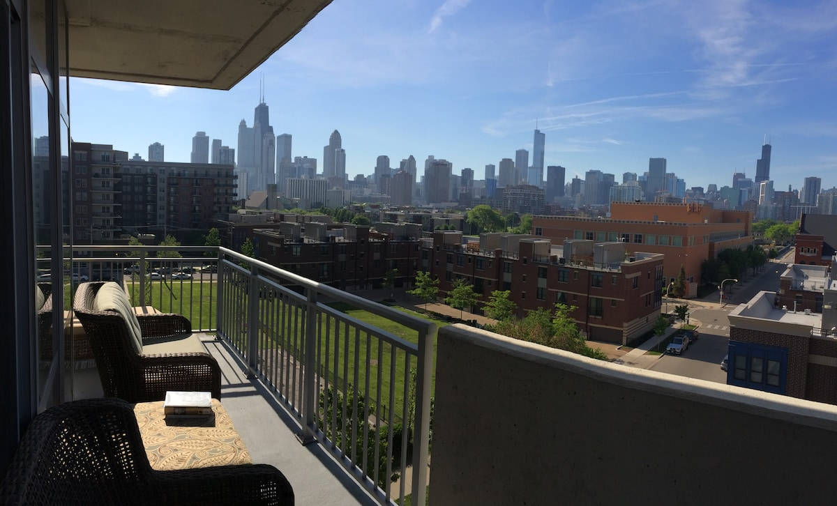 New Condo with Incred City View