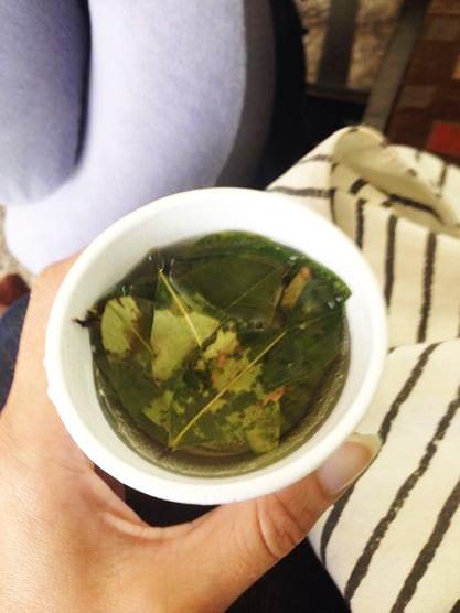 Would you like some coca tea?