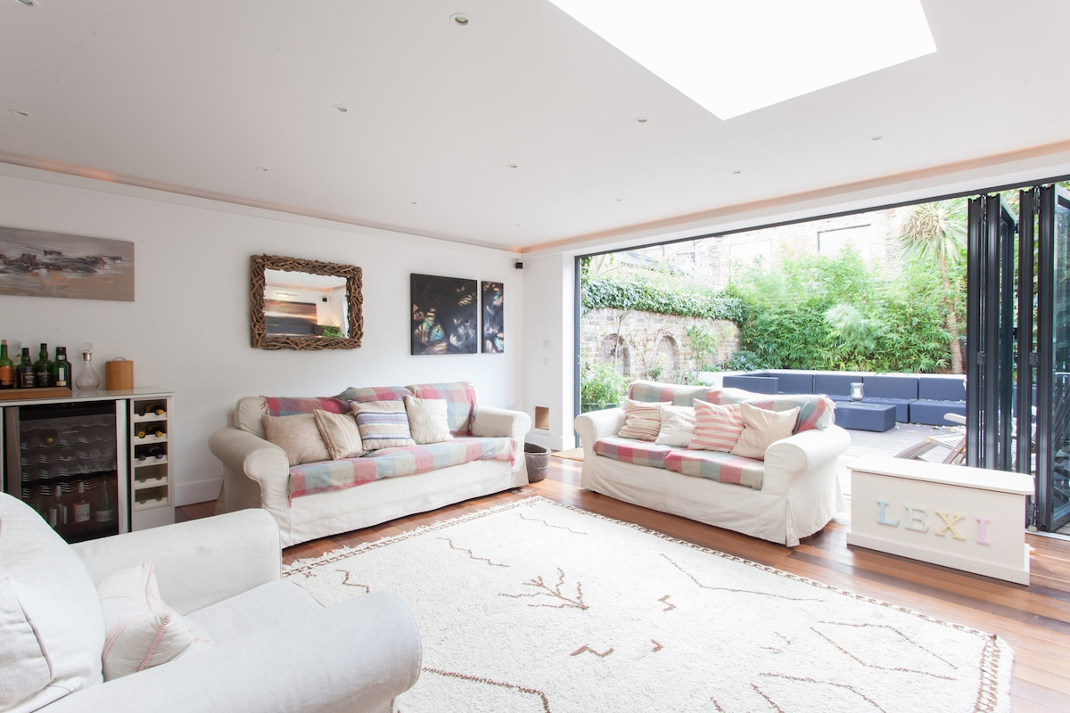 Fulham, 3 bed house, lovely garden.