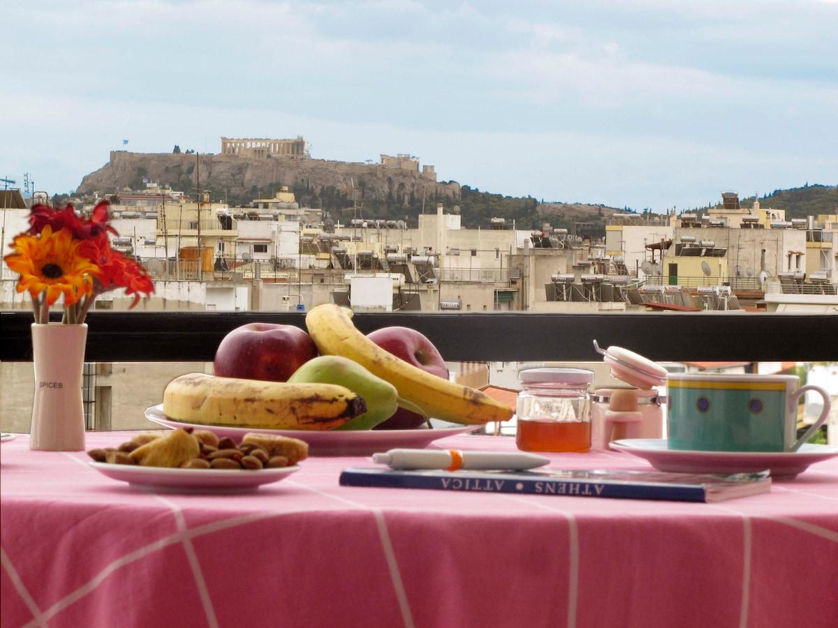 Unique Acropolis view apartment
