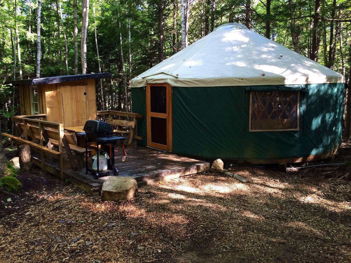 Hemlock Ridge Yurt