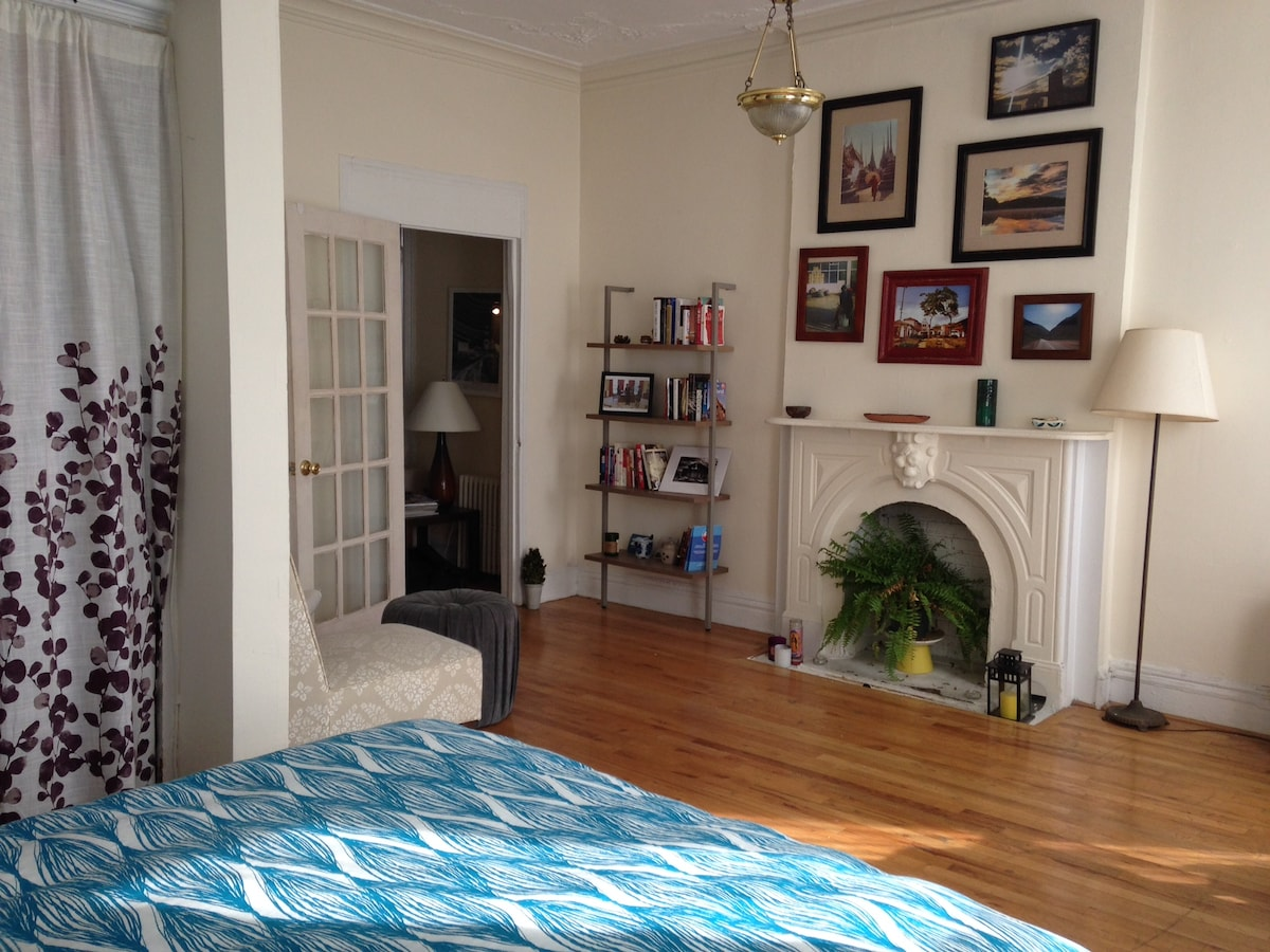 Sunny Park Slope apartment