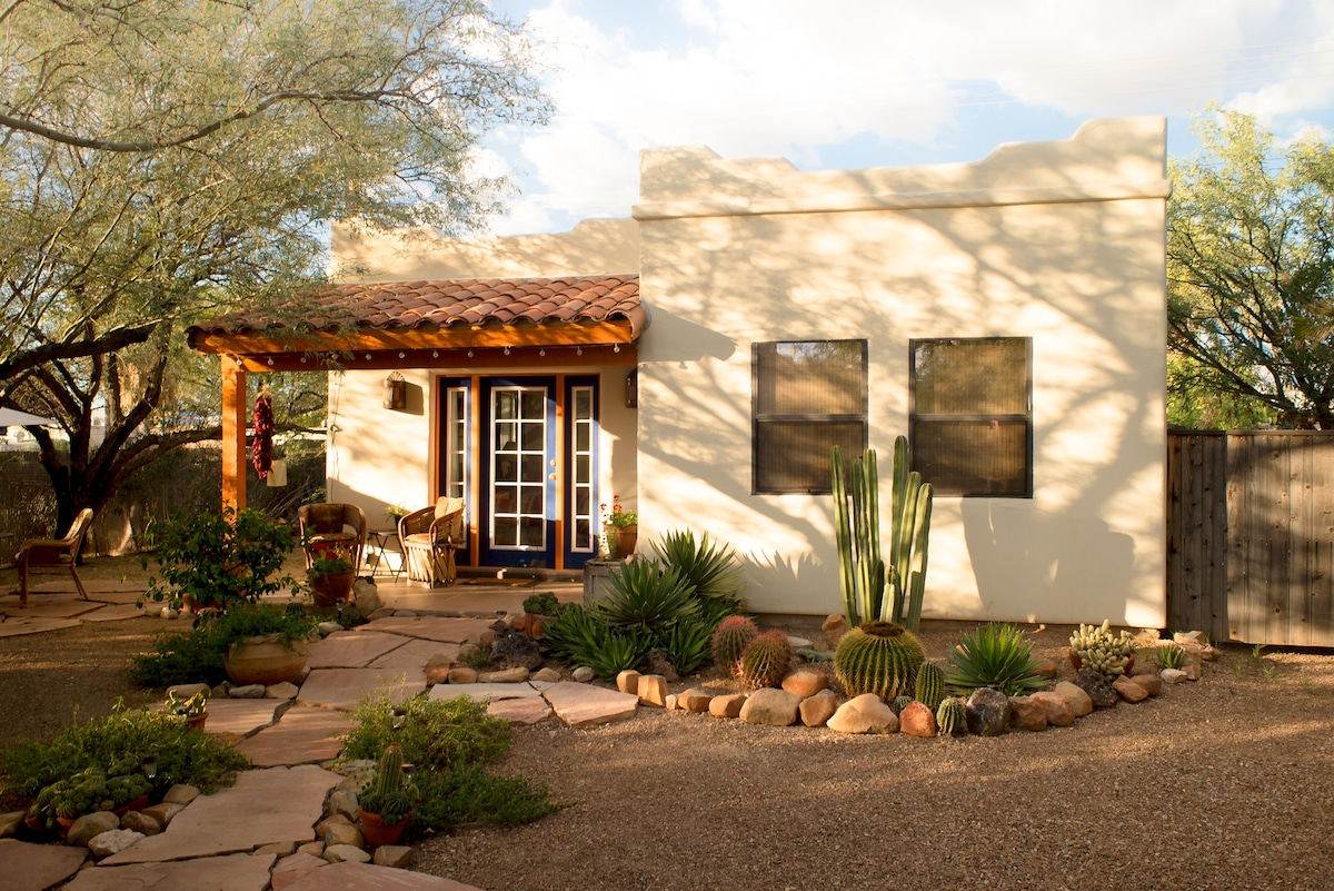 Private Southwestern Style Casita In Tucson