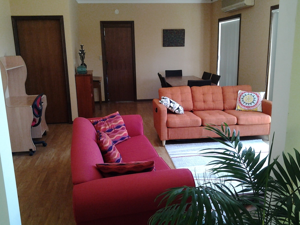 Comfortable spacious home