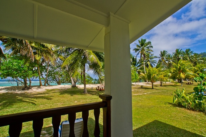 Your view from your veranda.