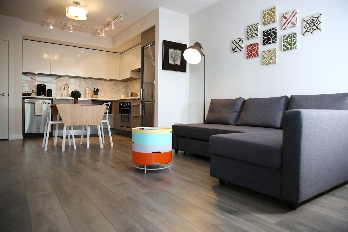 New modern 1BD Metrotown Vancouver