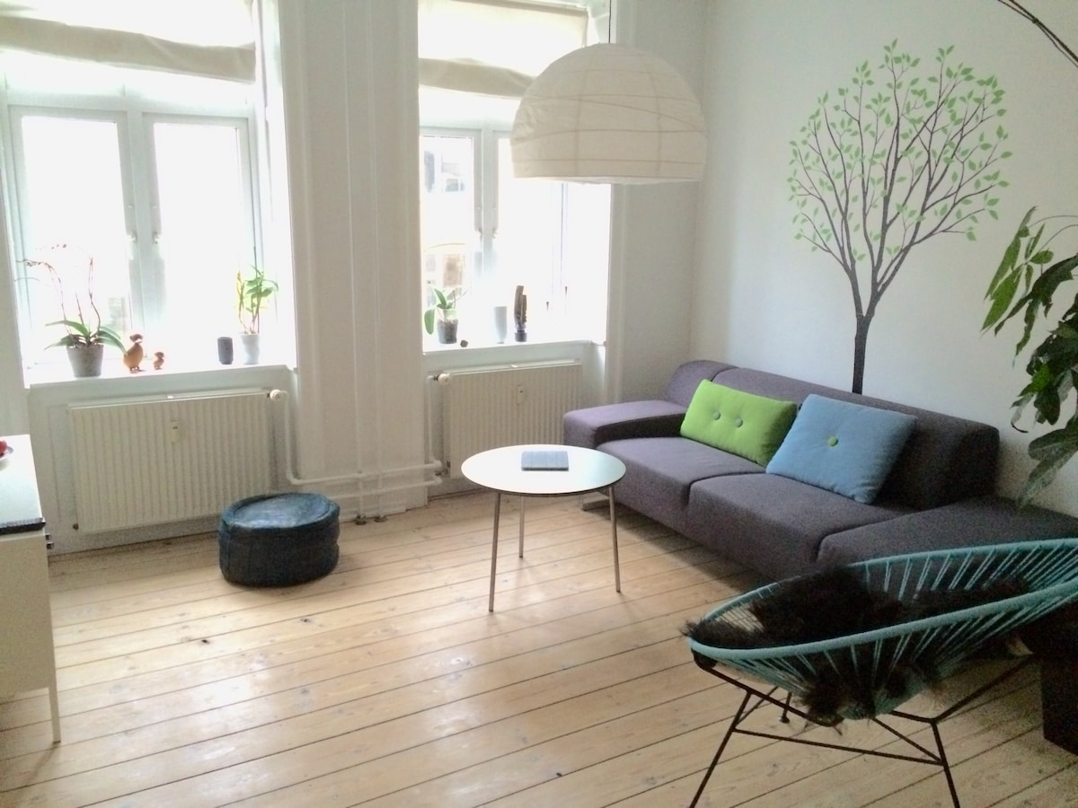 Nice 3 room flat close to the metro