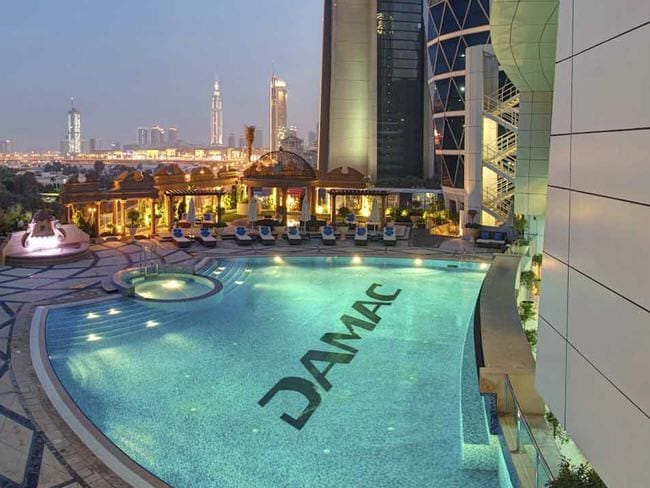 Dream Place next to Burj Khalifa