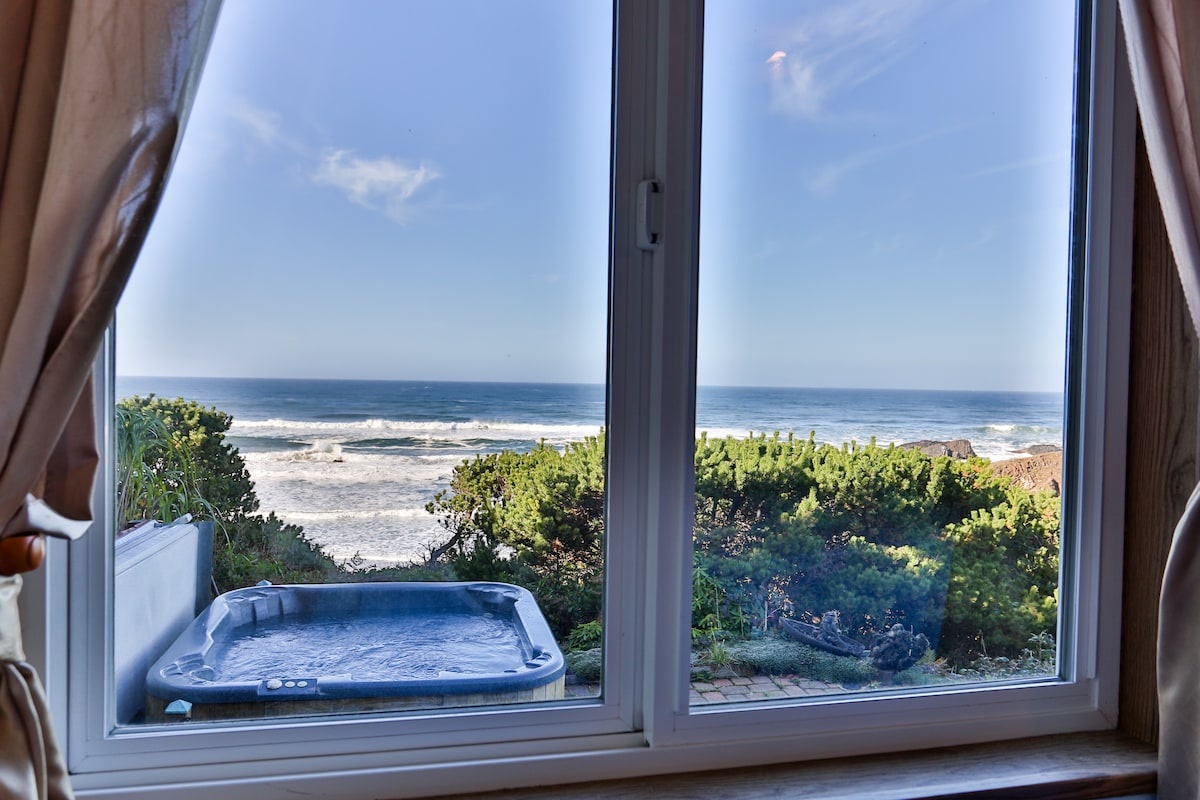 Unobstructed Oceanviews w/HotTub