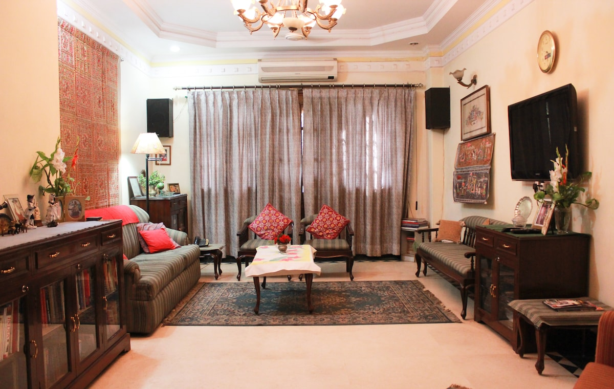 Main Drawing room for close interaction between guests and host family