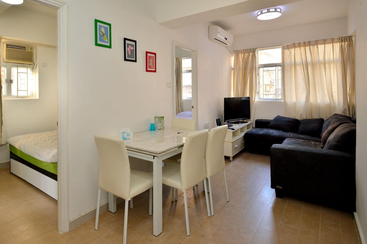 MONGKOK -  2BR Apartment for 5