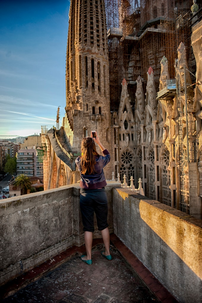 Sagrada Familia infront of you!! TR
