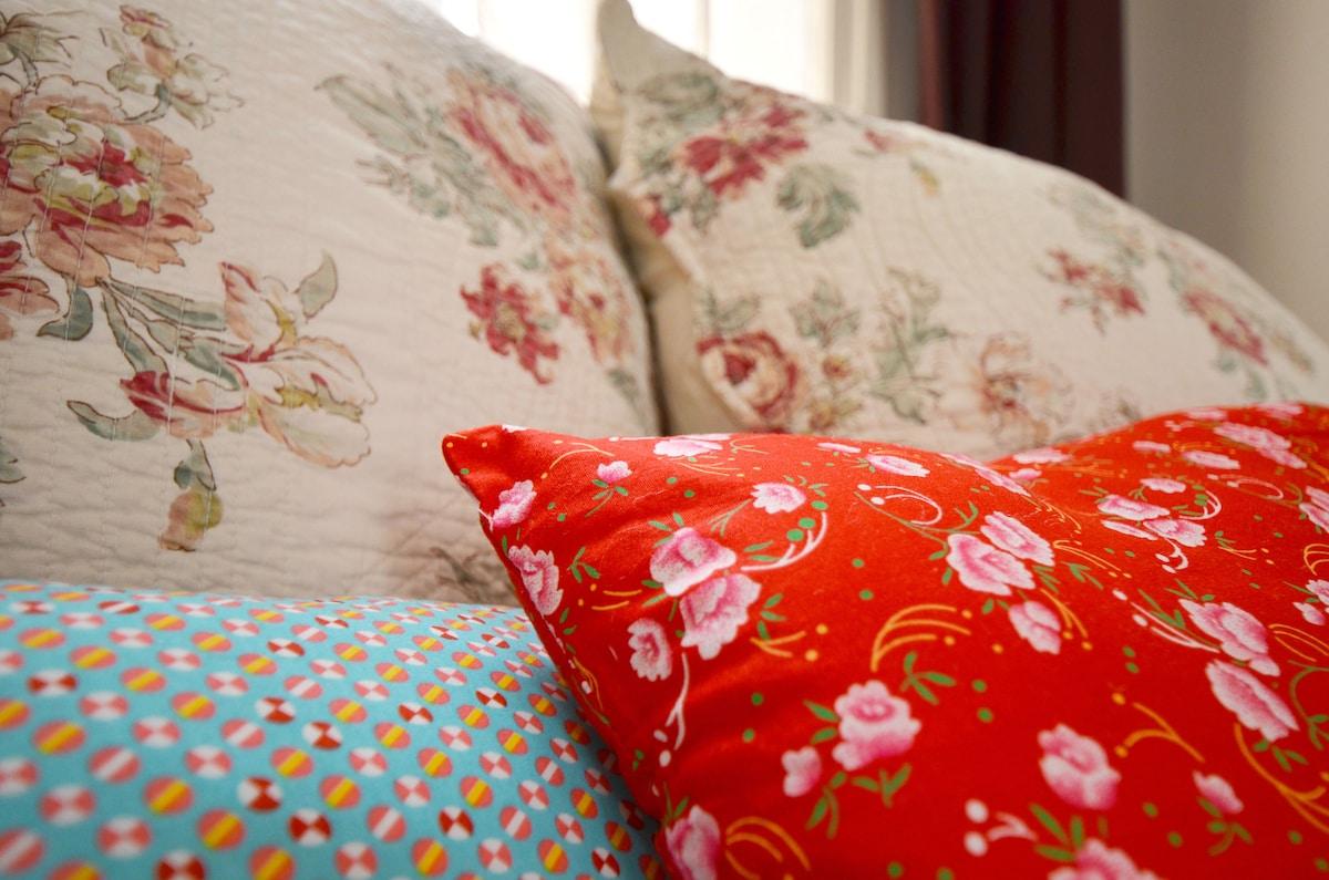 confortable pillows